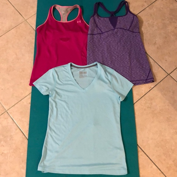 Under Armour Tops - Bundle of Under Armour/Zella/Nike athletic wear!